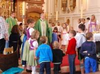 Familiengottesdienst mit der Kinderkirche