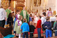 Familiengottesdienst in Benediktbeuern