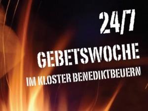 24/7-Gebetswoche im Kloster Benediktbeuern