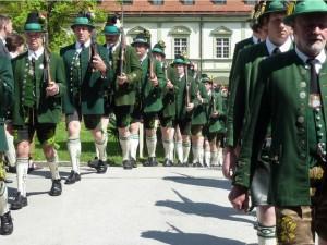 Jahrtagsmesse der Antlaß- und Gebirgsschützen-Kompanie Benediktbeuern-Ried