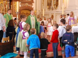 Familiengottesdienst mit dem Gemeindekindergarten Benediktbeuern