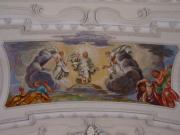 Deckengemälde: Verklärung Christi auf dem Berg Tabor